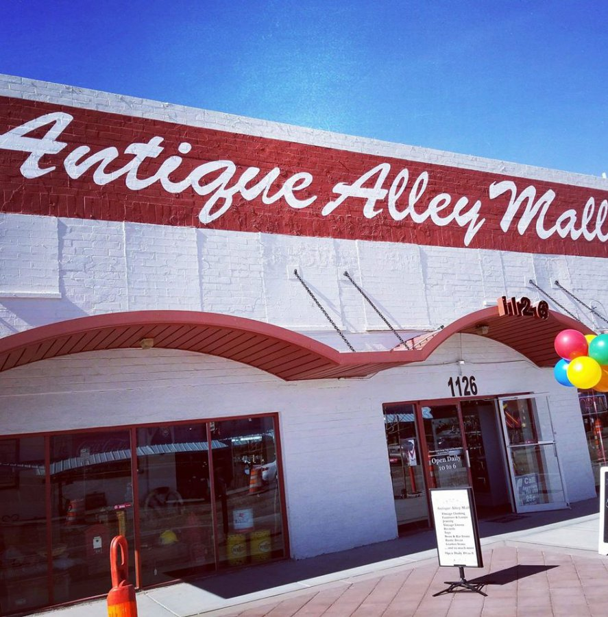 Antique Alley Mall in Las vegas