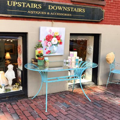 Upstairs Downstairs Antiques Boston Massachusetts
