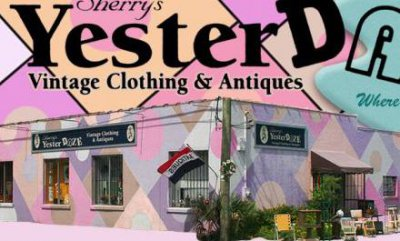 Sherry's Yesterdaze Vintage Clothing & Antiques in Tampa FLorida