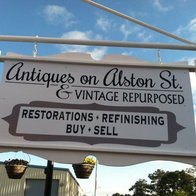 Antiques on Alston Street Foley, Alabama